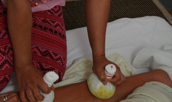 Stempel massage